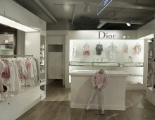 Dior Kids im Steffl