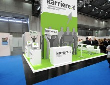 Karriere.at Messestand