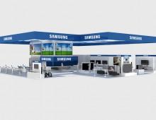 Samsung Messestand