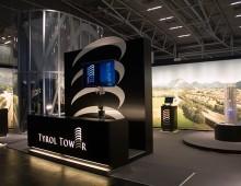 Messestand Tyrol Tower